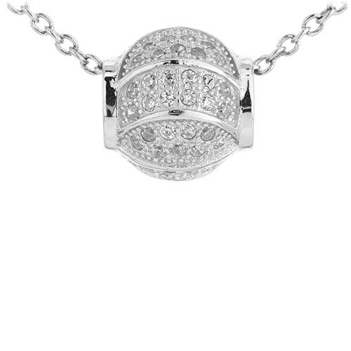 pendentif femme argent zirconium 8300953