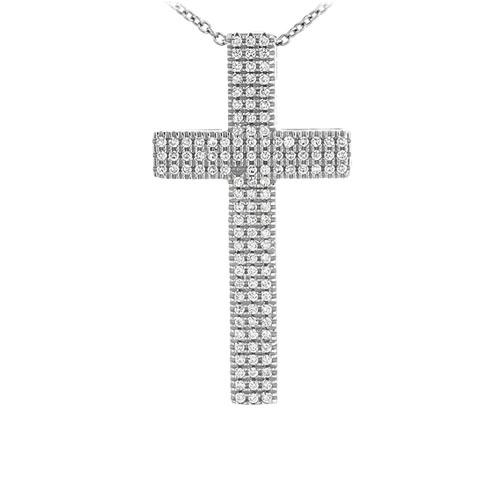 pendentif femme argent zirconium 8300975