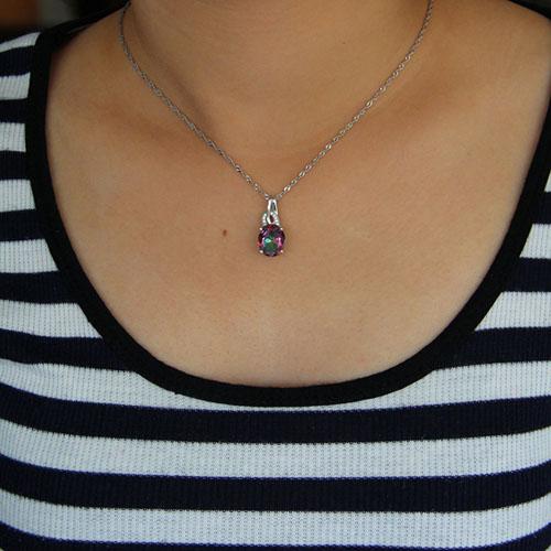 pendentif femme argent zirconium 8301010 pic4