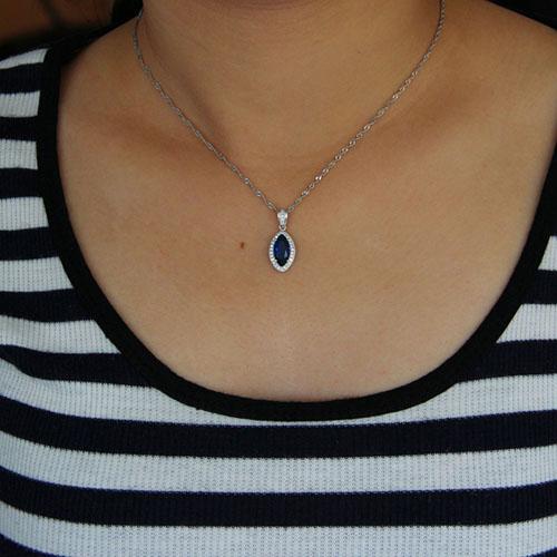 pendentif femme argent zirconium 8301011 pic4