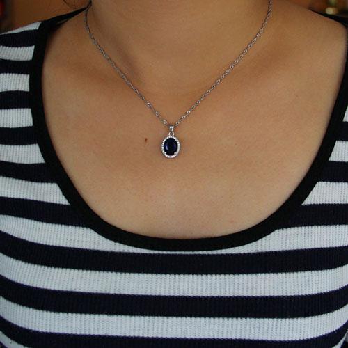 pendentif femme argent zirconium 8301012 pic4