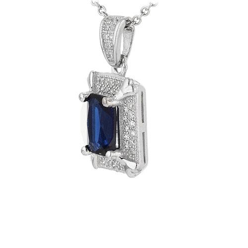pendentif femme argent zirconium 8301014 pic2