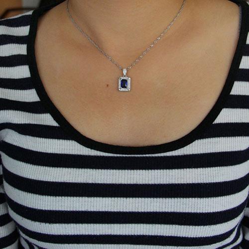 pendentif femme argent zirconium 8301014 pic4