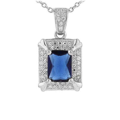 pendentif femme argent zirconium 8301014