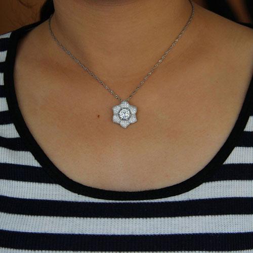 pendentif femme argent zirconium 8301016 pic4