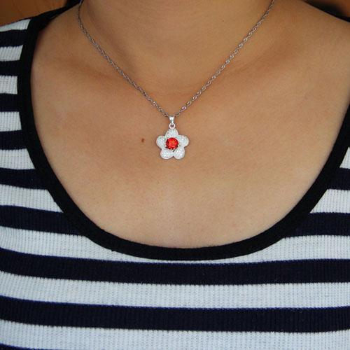 pendentif femme argent zirconium 8301017 pic4