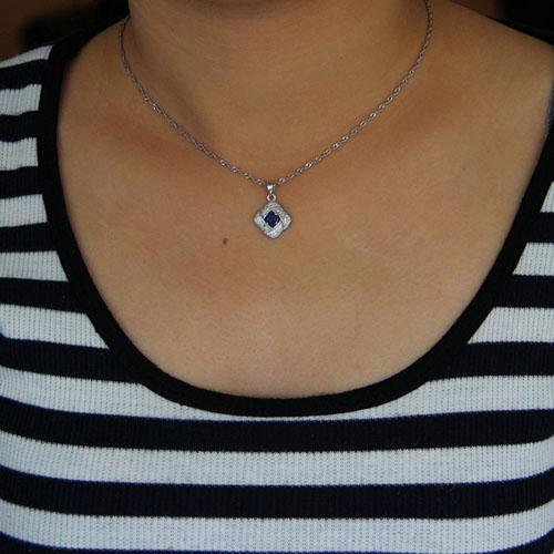 pendentif femme argent zirconium 8301019 pic4