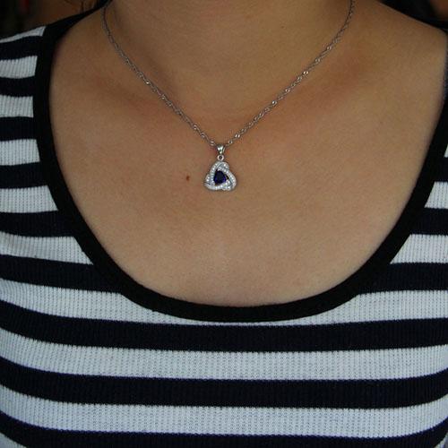 pendentif femme argent zirconium 8301020 pic4