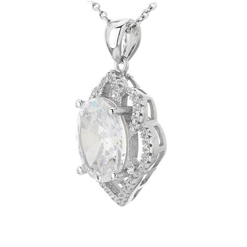 pendentif femme argent zirconium 8301022 pic2