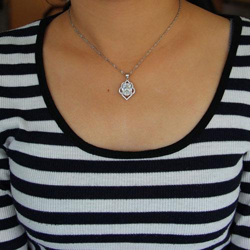 pendentif femme argent zirconium 8301022 pic4