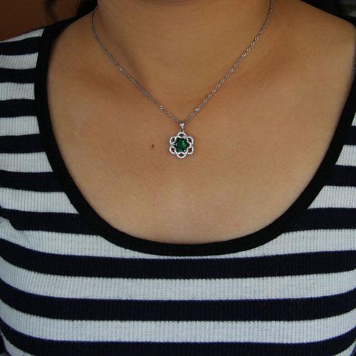 pendentif femme argent zirconium 8301024 pic4