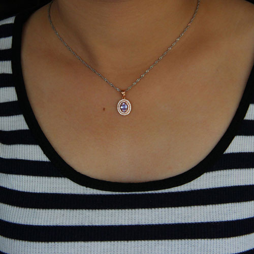 pendentif femme argent zirconium 8301025 pic4