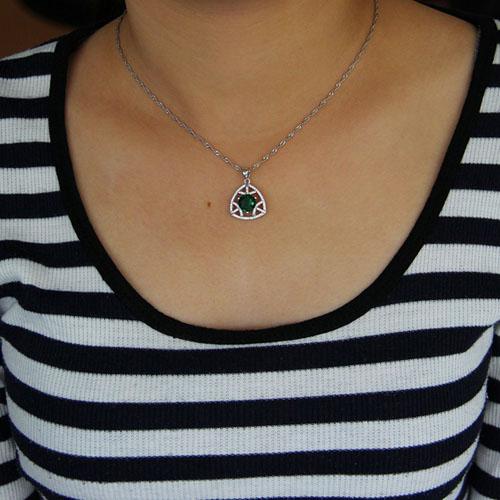 pendentif femme argent zirconium 8301031 pic4