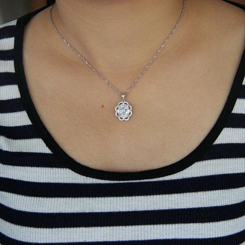 pendentif femme argent zirconium 8301035 pic4
