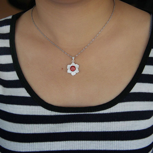 pendentif femme argent zirconium 8301037 pic4