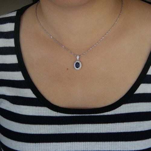 pendentif femme argent zirconium 8301038 pic4