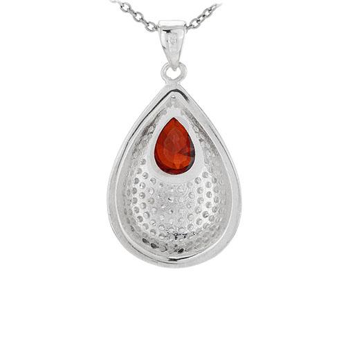 pendentif femme argent zirconium 8301041 pic3