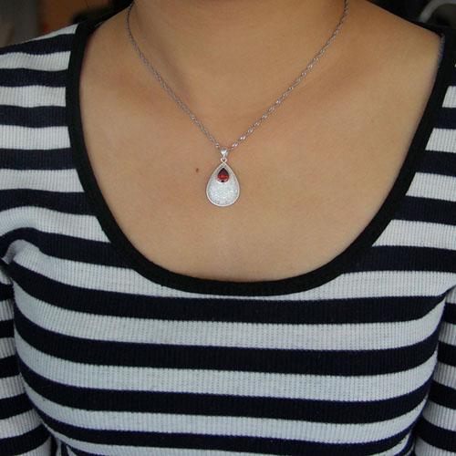 pendentif femme argent zirconium 8301041 pic4