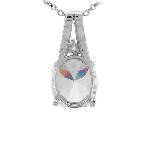 pendentif femme argent zirconium 8301042 pic2