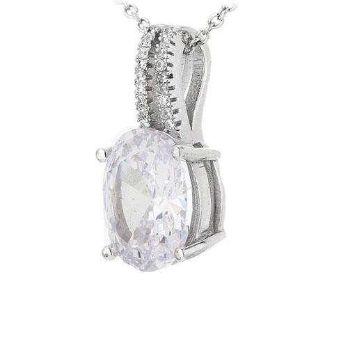 pendentif femme argent zirconium 8301043 pic2