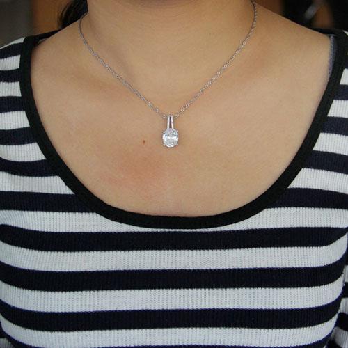pendentif femme argent zirconium 8301043 pic4