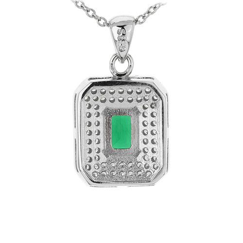 pendentif femme argent zirconium 8301044 pic3
