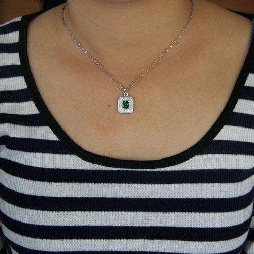 pendentif femme argent zirconium 8301044 pic4