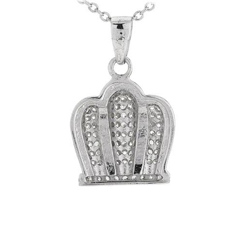 pendentif femme argent zirconium 8301047 pic3