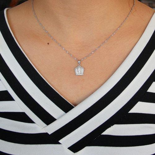 pendentif femme argent zirconium 8301047 pic4