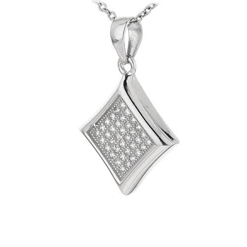 pendentif femme argent zirconium 8301049 pic2