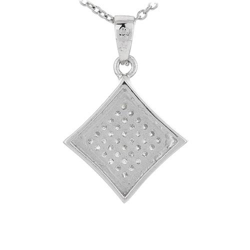 pendentif femme argent zirconium 8301049 pic3