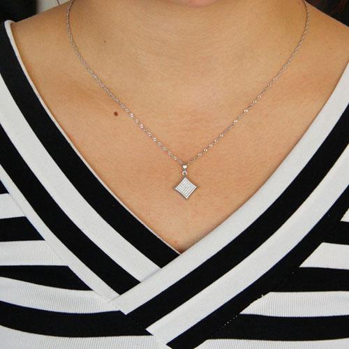 pendentif femme argent zirconium 8301049 pic4