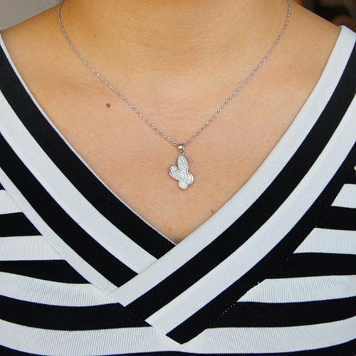 pendentif femme argent zirconium 8301050 pic4