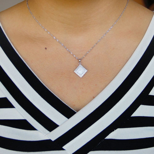 pendentif femme argent zirconium 8301052 pic4