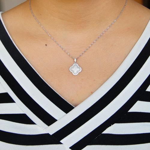pendentif femme argent zirconium 8301055 pic4