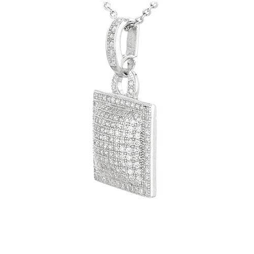 pendentif femme argent zirconium 8301058 pic2