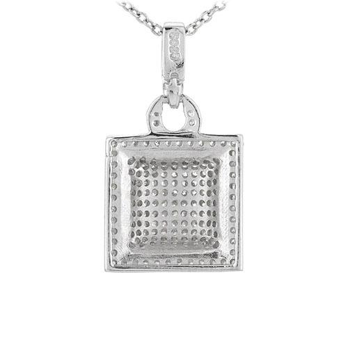 pendentif femme argent zirconium 8301058 pic3