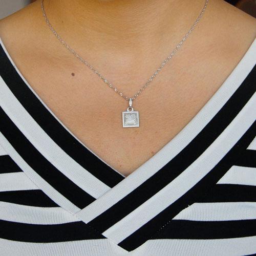 pendentif femme argent zirconium 8301058 pic4