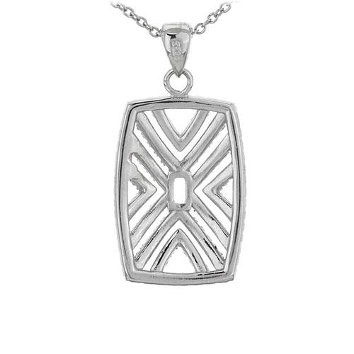 pendentif femme argent zirconium 8301060 pic3