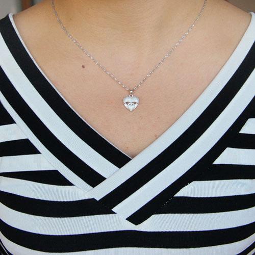 pendentif femme argent zirconium 8301061 pic4