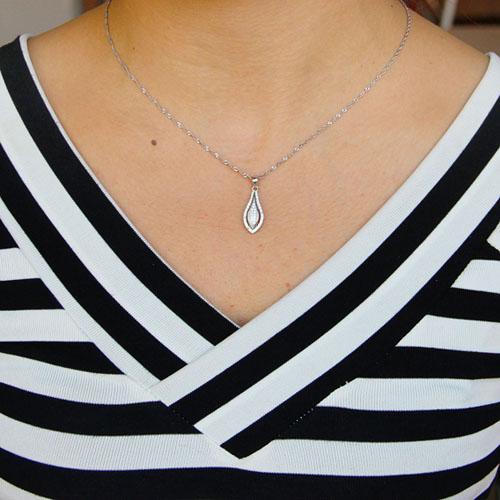 pendentif femme argent zirconium 8301062 pic4