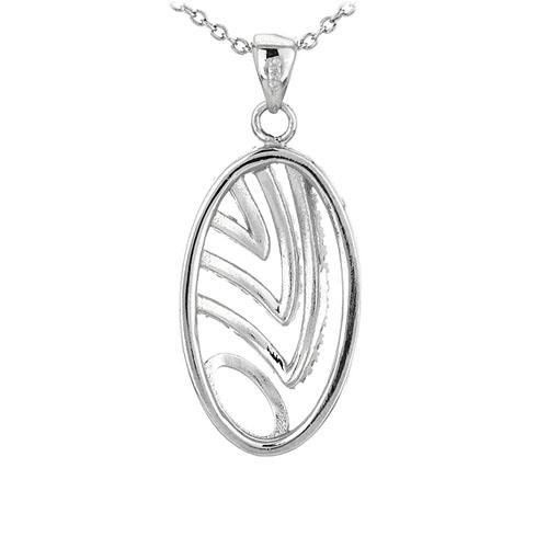 pendentif femme argent zirconium 8301064 pic3