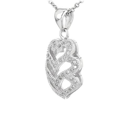 pendentif femme argent zirconium 8301065 pic2