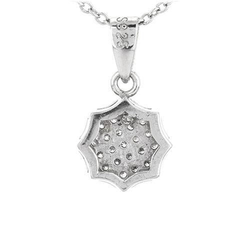 pendentif femme argent zirconium 8301069 pic3