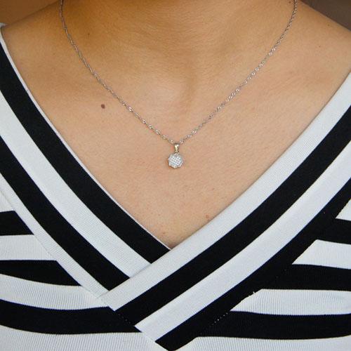 pendentif femme argent zirconium 8301069 pic4