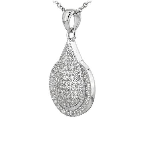 pendentif femme argent zirconium 8301070 pic2