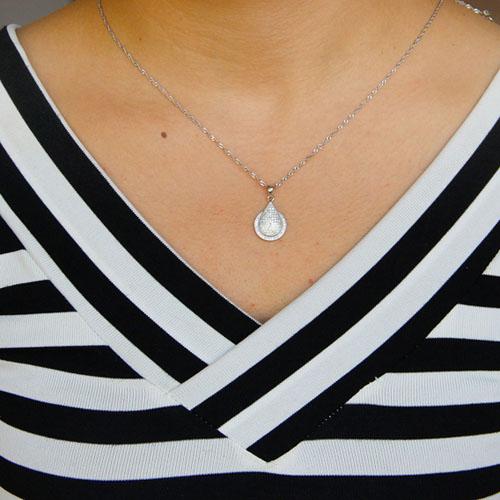 pendentif femme argent zirconium 8301070 pic4