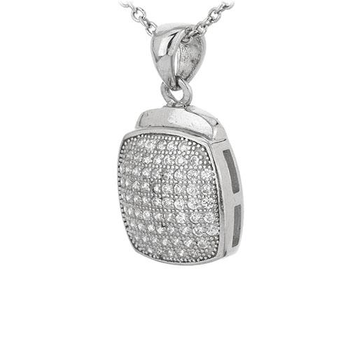 pendentif femme argent zirconium 8301071 pic2