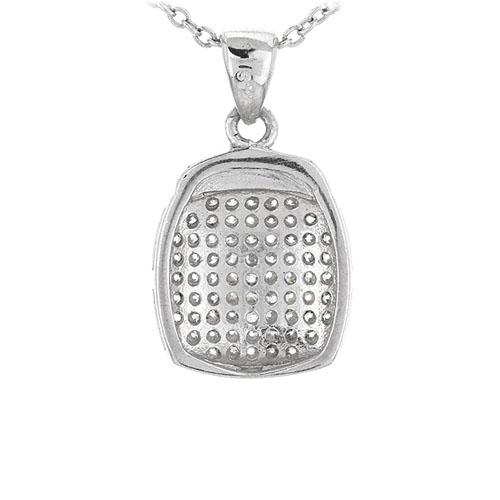 pendentif femme argent zirconium 8301071 pic3