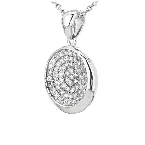 pendentif femme argent zirconium 8301072 pic2